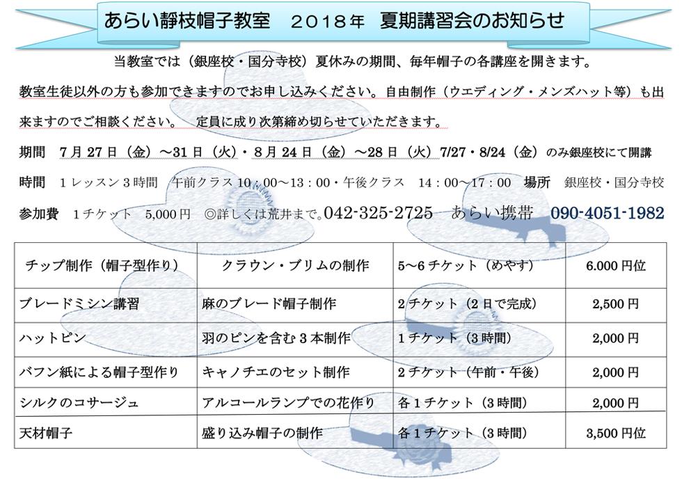 2018年夏期講習会についての説明 外部用 2Mbaito2のコピー